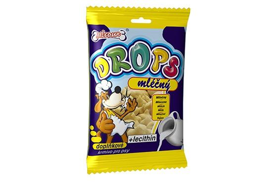 Mlsoun Dropsy DAFIKO mléčné 75g