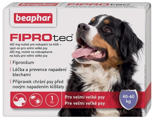 Beaphar Spot on Fiprotec pro psy XL 40-60kg