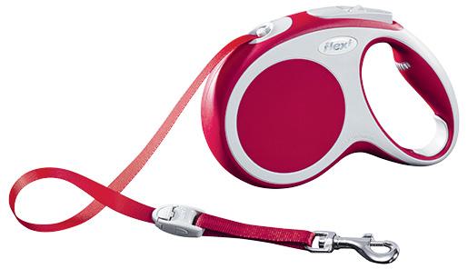 Vodítko Flexi Vario páska 5m červené M