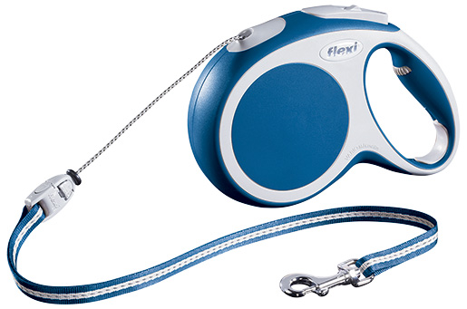 Vodítko Flexi Vario lanko modré M 8m