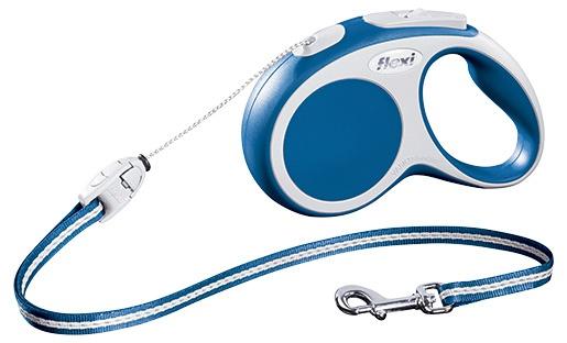 Vodítko Flexi Vario lanko 5m modré S