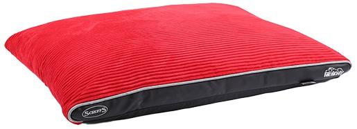 Matrace Scruffs Milan Memory Foam Pillow sv.červený