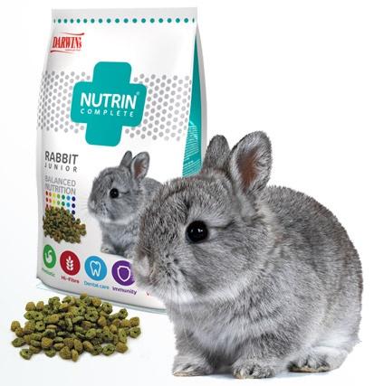 NUTRIN - Complete Králík Junior/Rabbit Junior 400g