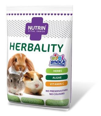 Darwin´s NUTRIN Vital Snack HERBALITY (pro králíky, morčata, činčily a osmáky) 100g