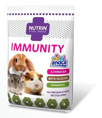 NUTRIN Vital Snack IMMUNITY (pro králíky, morčata, činčily a osmáky) 100g