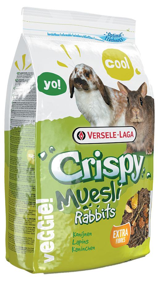 Krmivo VERSELE-LAGA Crispy Müsli pro králíky 400g