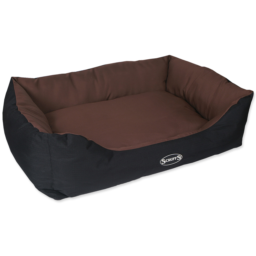 Pelíšek SCRUFFS Expedition Box Bed čokoládový 90cm