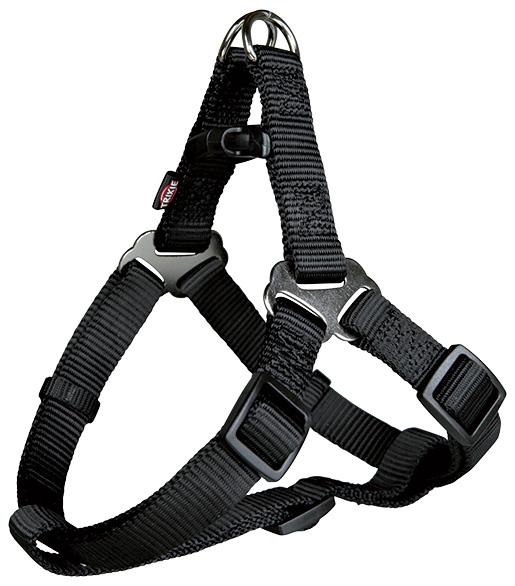 Postroj pro psy Trixie M Premium černý