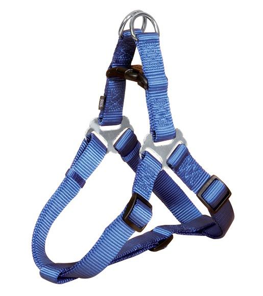Postroj pro psy Trixie Premium L modrý