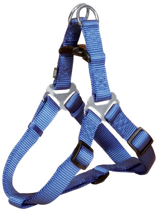 Postroj pro psy Trixie Premium XS-S modrý