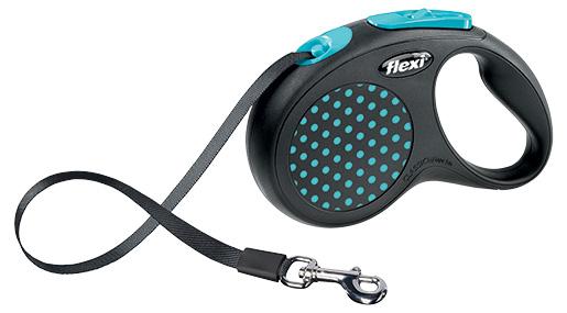 Vodítko Flexi Design páska S 5m modré