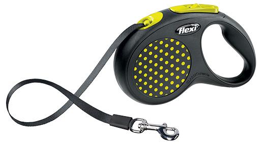 Vodítko Flexi Design páska S 5m žluté