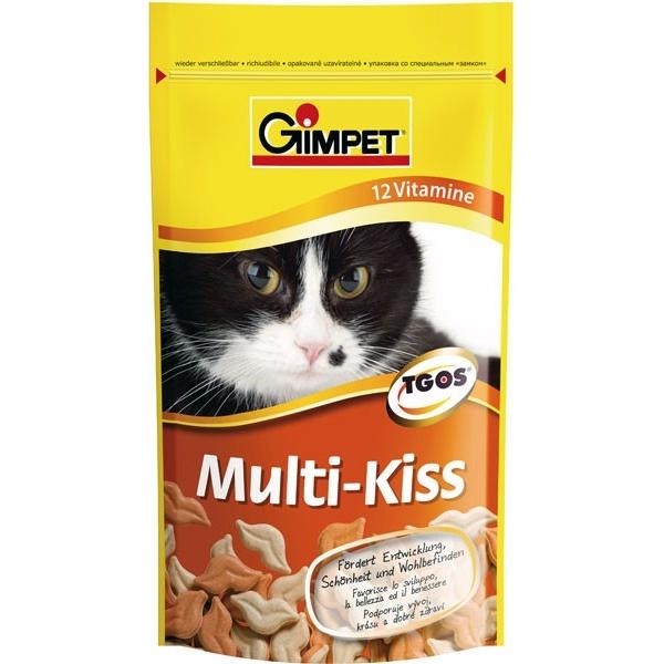 Pamlsky pro kočky GIMPET MULTI KISS 50g