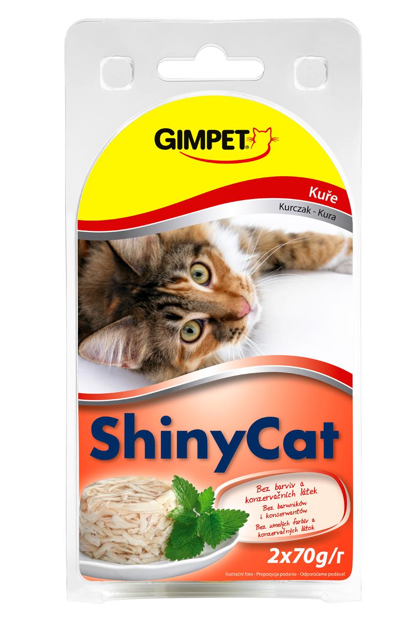 Gimpet Konzerva SHINY CAT kure 2x70g