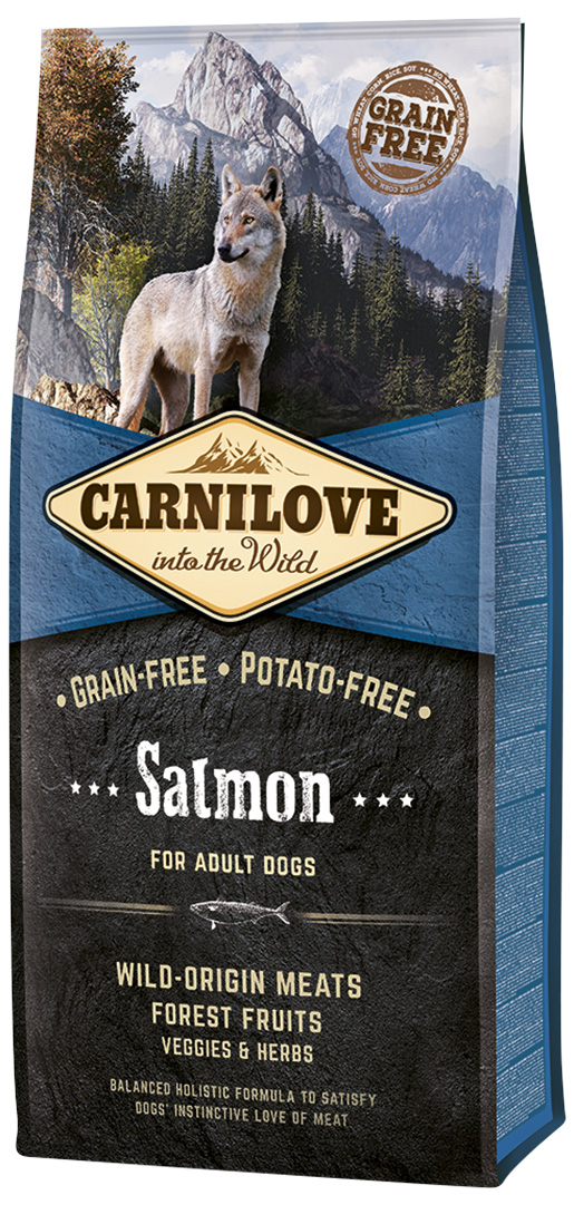 Brit Carnilove Salmon for Adult 12kg