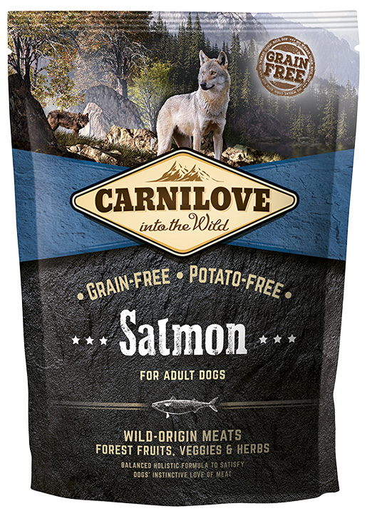 Brit Carnilove Salmon for Adult 1.5kg