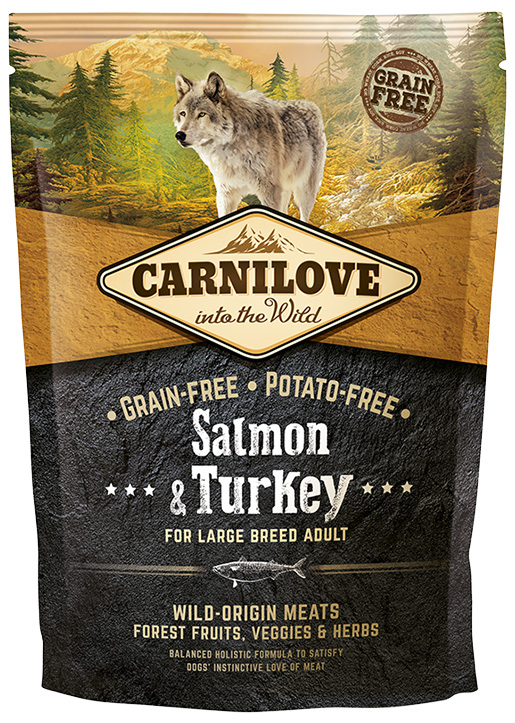 Brit Carnilove Salmon & Turkey for Large Breed Adult 1.5kg
