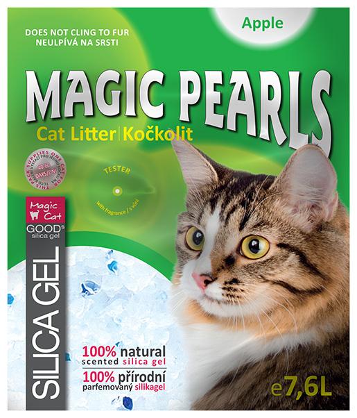 Kočkolit Magic Pearls Apple 7.6l