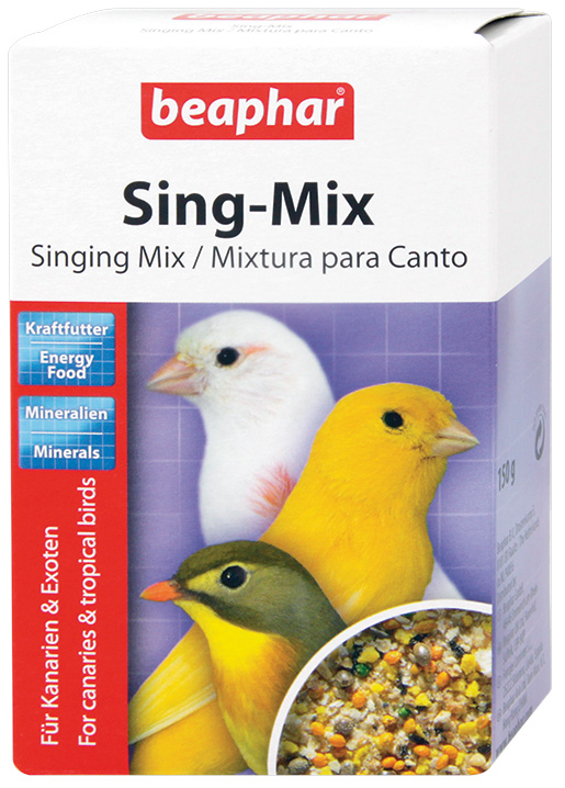 Krmivo BEAPHAR Sing Mix doplňkové 150g