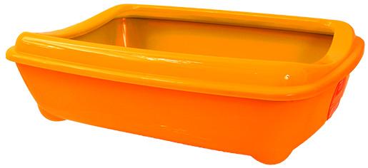 Toaleta MAGIC CAT Economy s okrajem oranžová 42cm