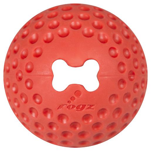 Hračka Rogz míček Gumz červený M