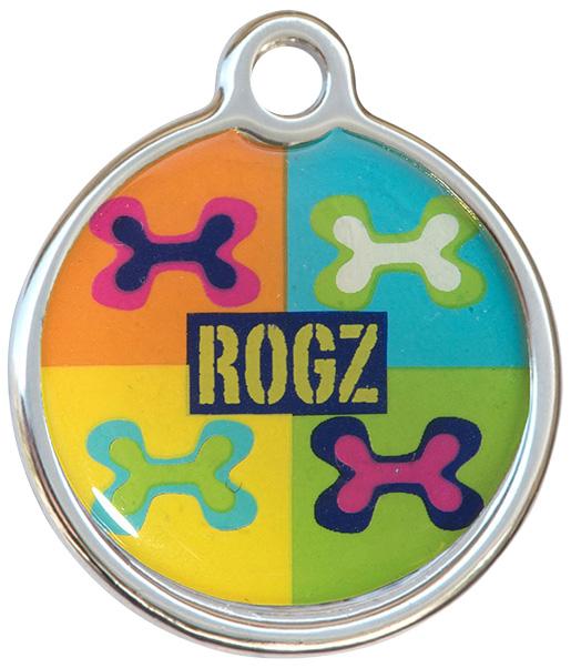 Známka ROGZ Metal Pop Art kovová S