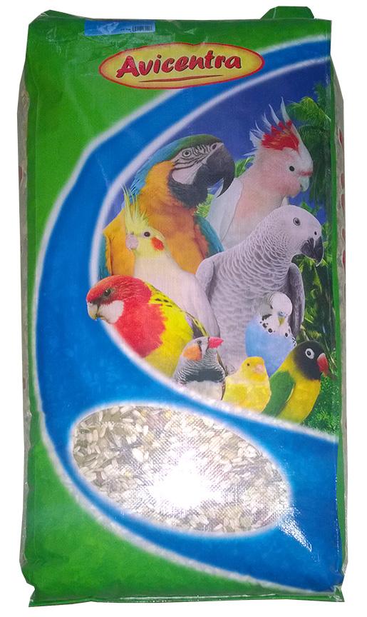 Krmivo AVICENTRA delux pro velké papoušky 20kg