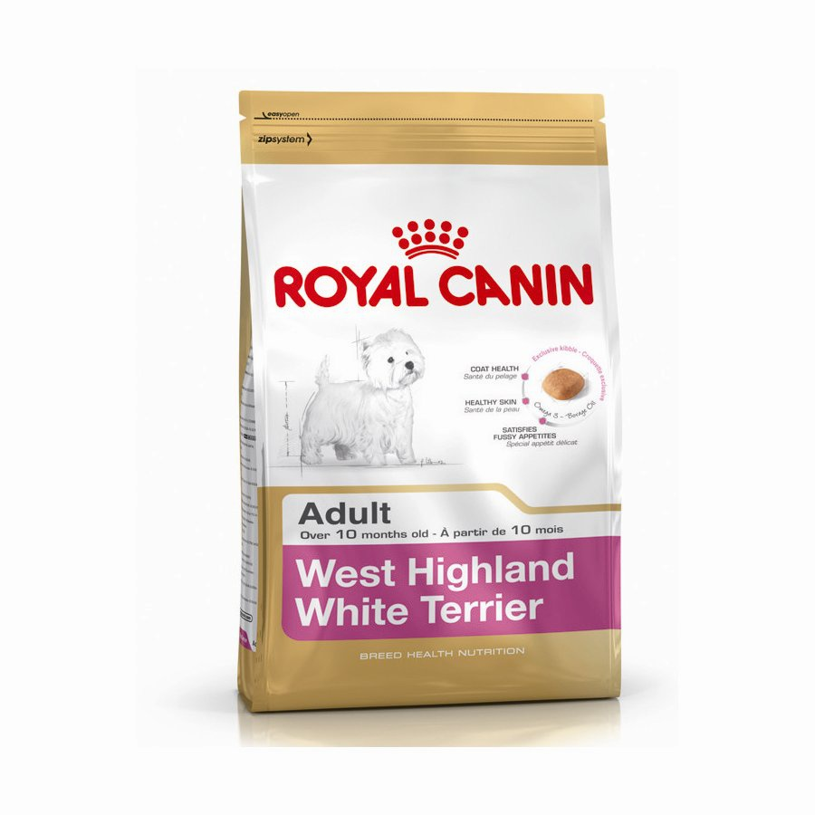 Royal Canin West Highland Terrier (Vestík) Adult 3kg