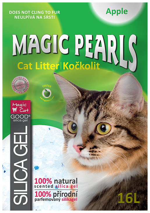 Kočkolit Magic Pearls Apple 16l