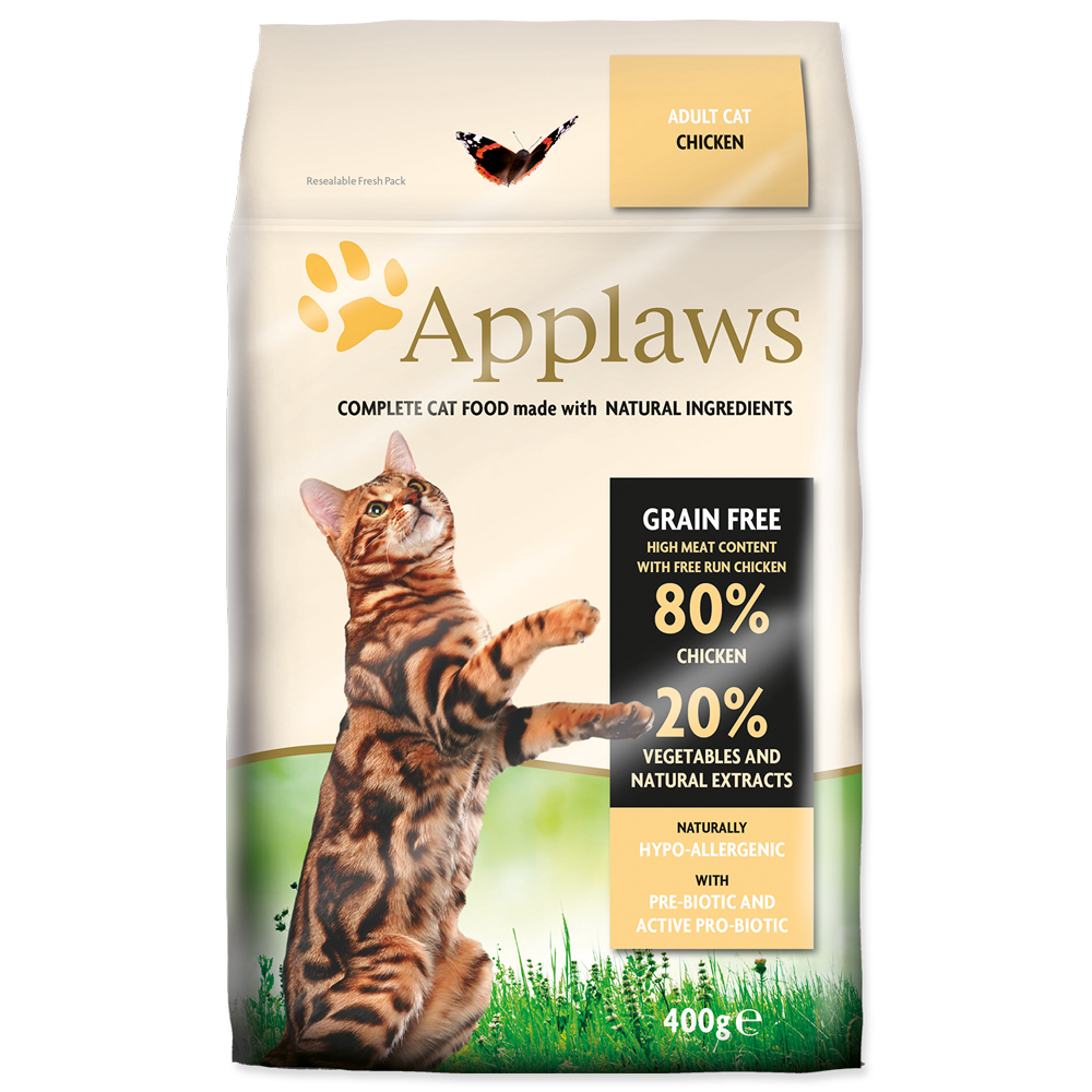 Krmivo Applaws Dry Cat kuře 400g