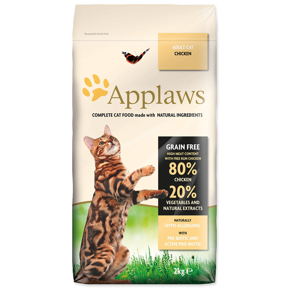 Krmivo Applaws Dry Cat kuře 2kg