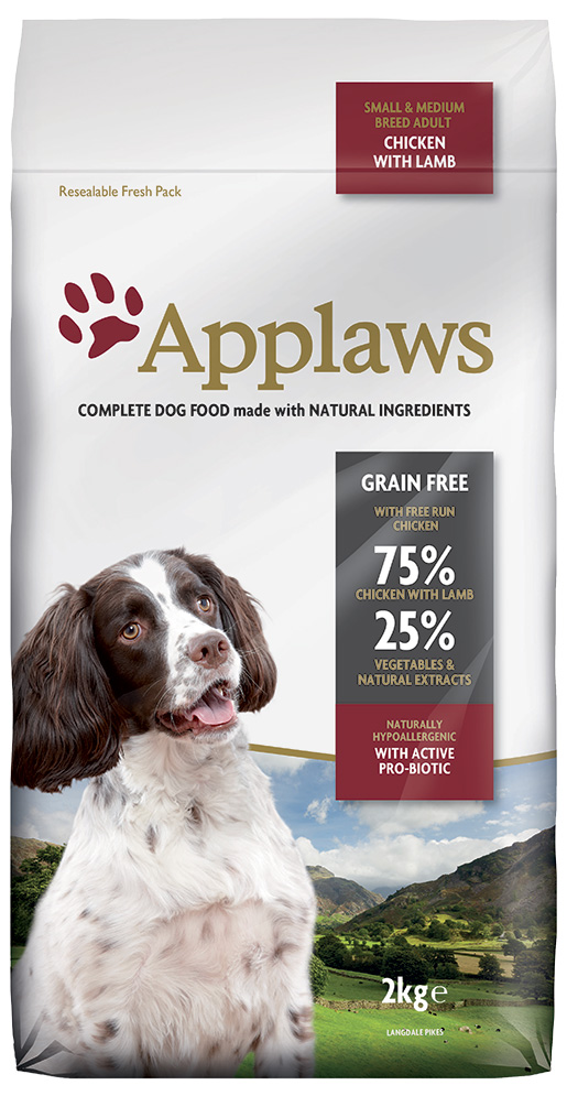 Krmivo Applaws Dry Dog Lamb Small & Medium Breed Adult 2kg