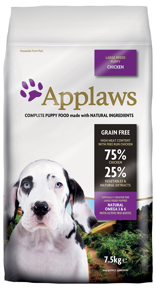 Krmivo Applaws Dry Dog Chicken Large Breed Puppy 7.5kg