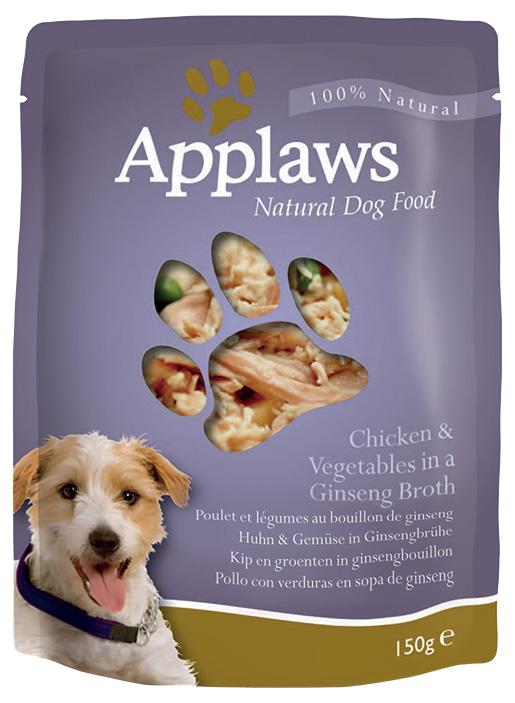 Kapsička Applaws Dog kuře, zelenina 150g