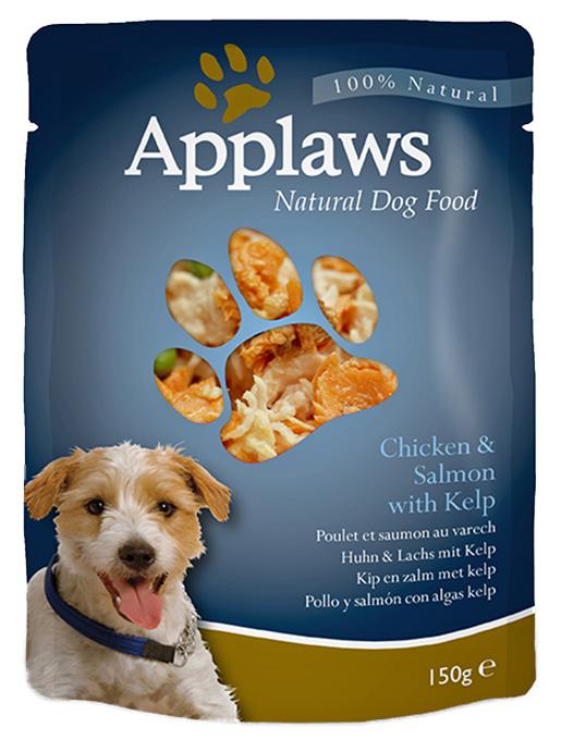 Kapsička Applaws Dog kuře, losos 150g