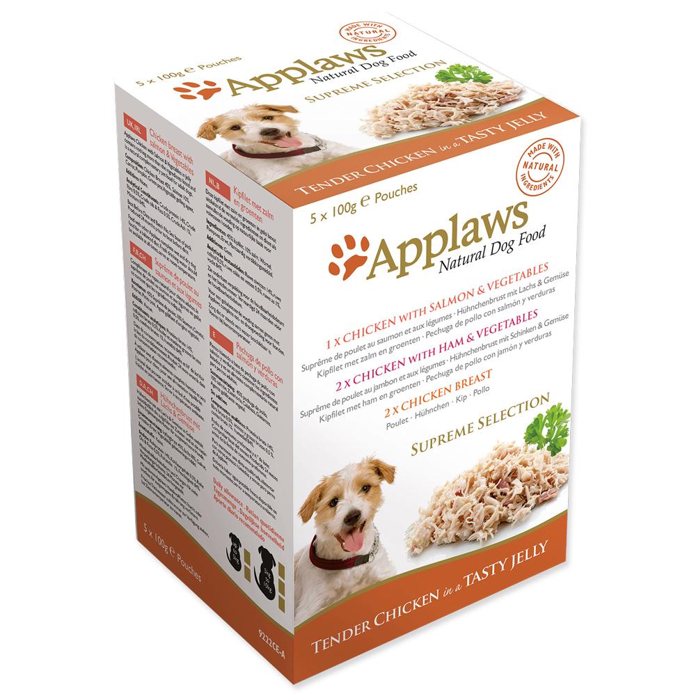 Kapsička Applaws Dog Jelly Supreme Selection MP 5x100g
