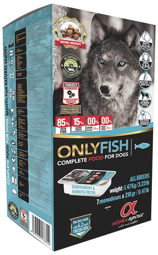 Krmivo Alpha Spirit Only Fish 1.47kg