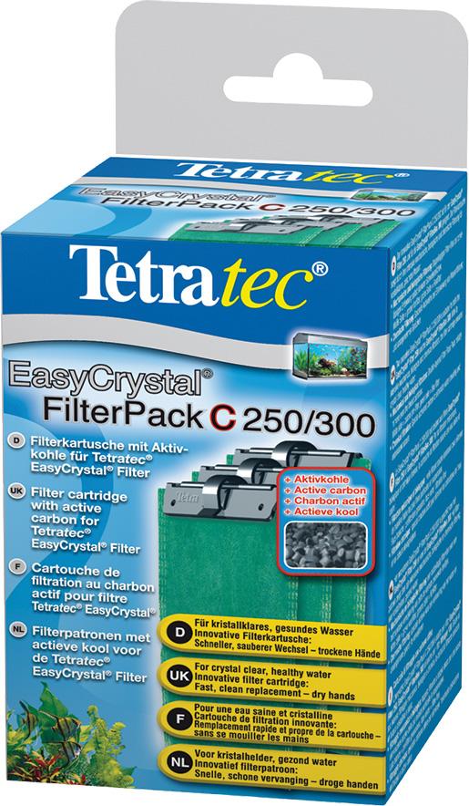 Náplň aktivní uhli TETRA EasyCrystal Box 250 / 300 3ks