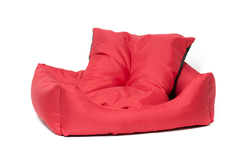 Sofa Dog Fantasy Basic červené 63cm