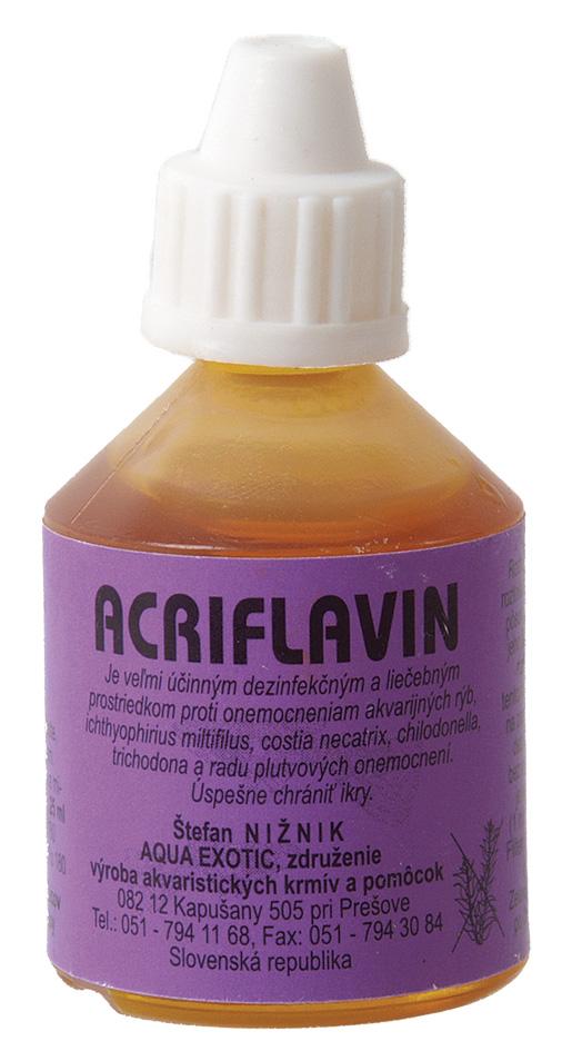 Dezinfekce AQUA EXOTIC Acriflavin 25ml