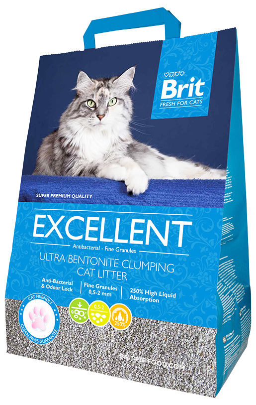 Stelivo Brit Fresh Cats Excellent Ultra Bentonite 10kg