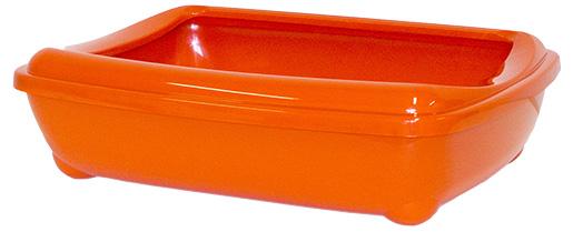 Toaleta MAGIC CAT Economy s okrajem oranžová 50cm