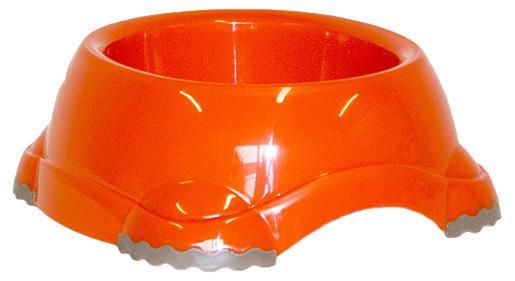 Miska DOG FANTASY plastová protiskluzová oranžová 1245ml