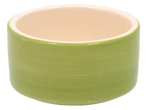 Miska SMALL ANIMAL keramická pro králíky zelená 10 cm