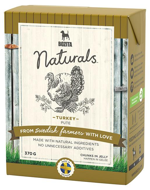 Bozita Naturals TPack BIG Turkey 370g