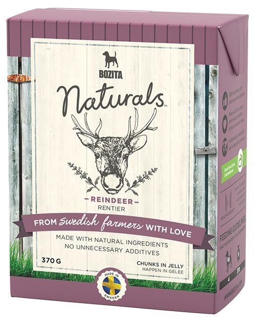 Bozita Naturals TPack BIG Reindeer 370g