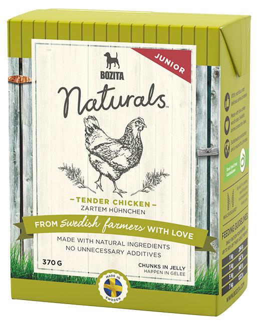 Bozita Naturals TPack BIG Tender Chicken Junior 370g