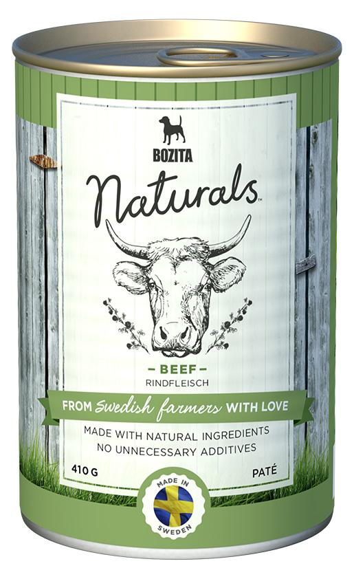 Bozita Naturals konzerva Beef 410g