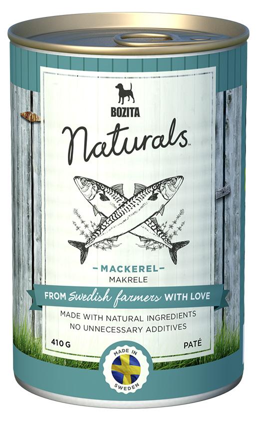 Bozita Naturals konzerva Mackerel 410g