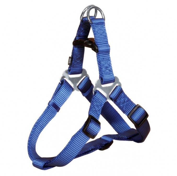 Postroj pro psy Trixie Premium XL modrý